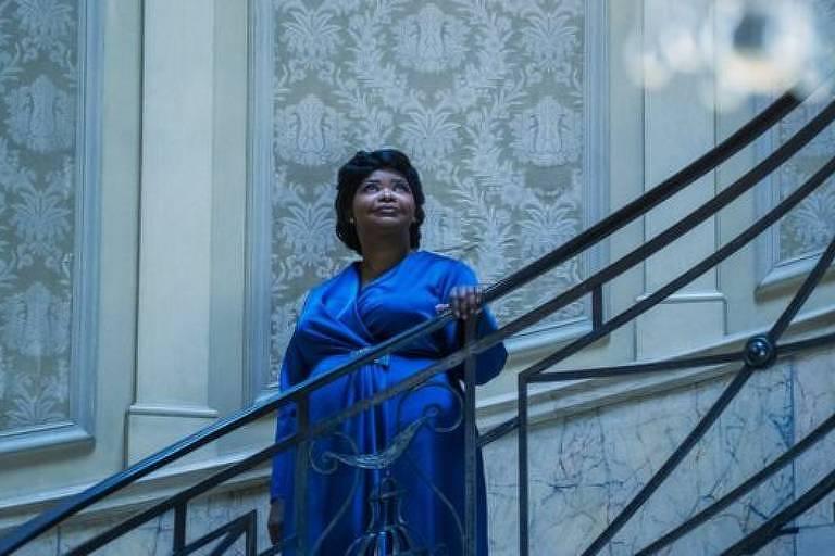 """Octavia Spencer em cena da série """"A Vida e a História de Madam C.J. Walker"""" (Reprodução)"""